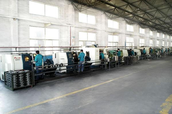 加工中心生产线